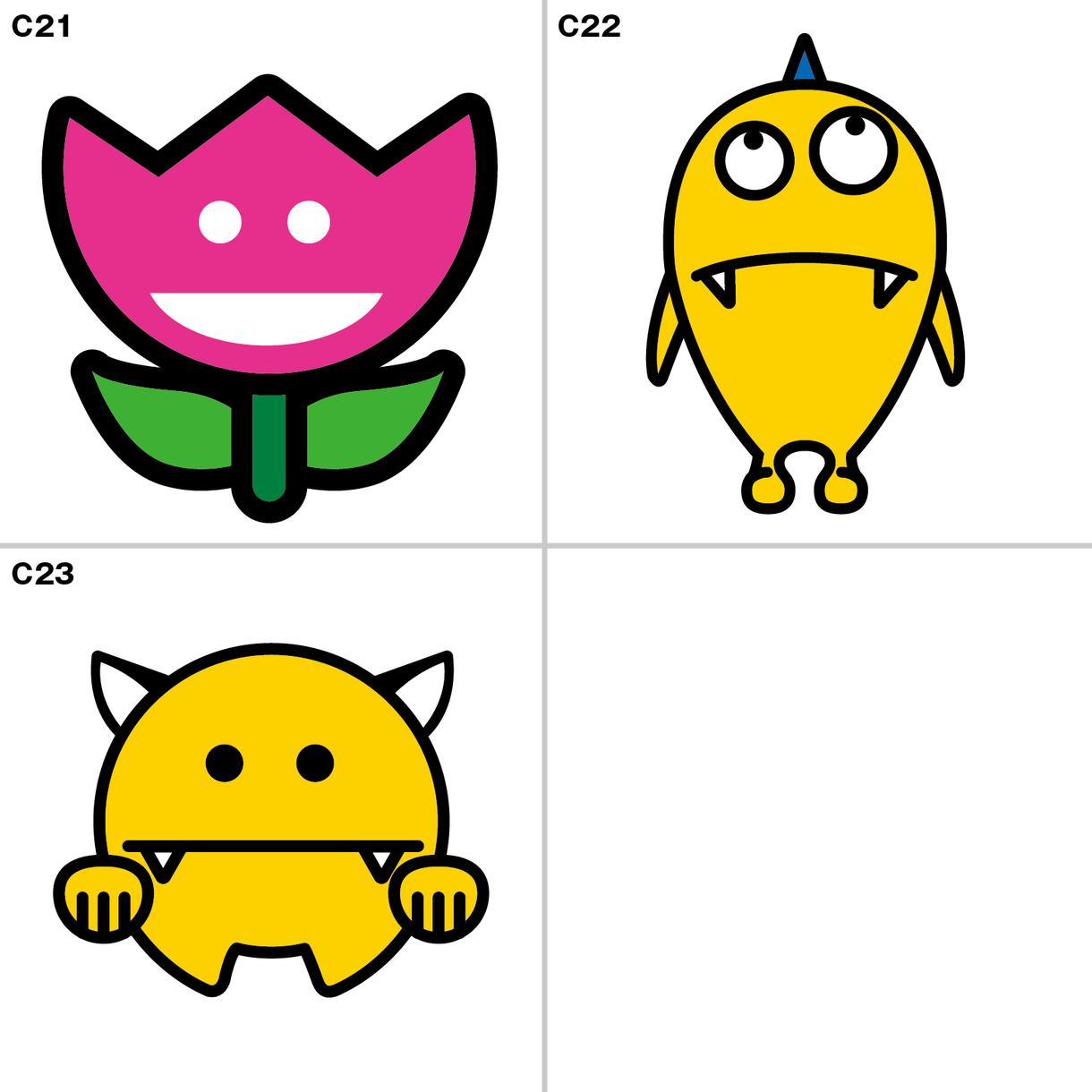 商用OK!キャラクター販売します 商用OK!著作権譲渡付きのキャラクター販売です。