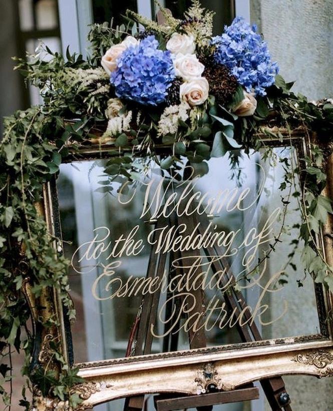 オシャレな結婚式のwelcomeボード描きます 結婚式のwelcomeボードで周りと差をつけたい貴方へ