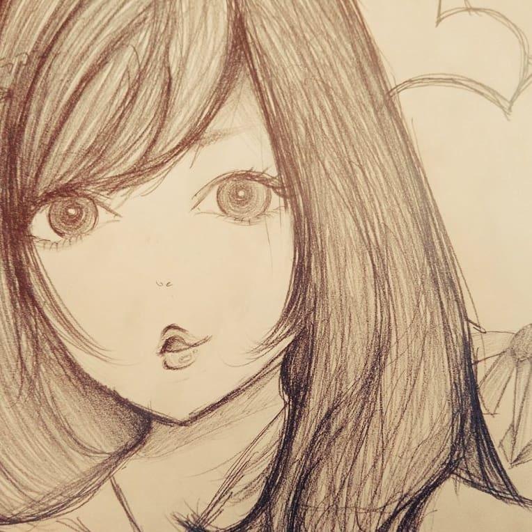 手書きで挿絵を描きます ほんわか可愛い絵を鉛筆で描きます イメージ1
