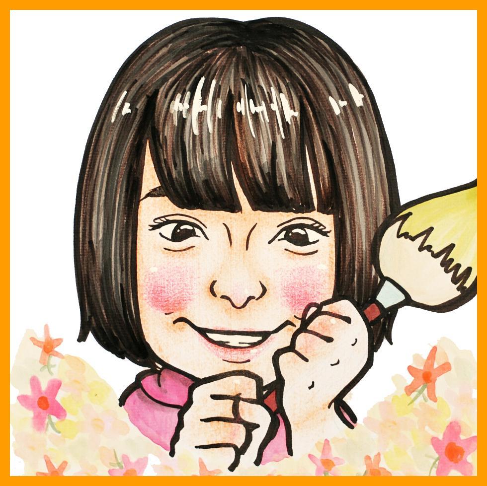 "☆SNS用アイコンに☆プロの似顔絵師が""可愛い""&""そっくり""似顔絵描きます!☆短納期☆"