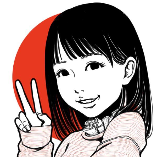 日本国娘風 似顔絵アイコン描きます twitter、LINE、Facebookなどのアイコンに! イメージ1