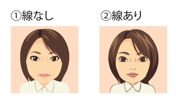 練習期間中につき無料で似顔絵お作りします。