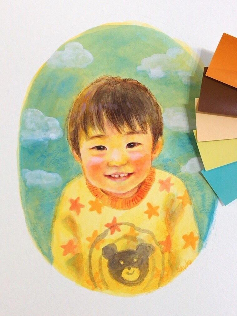 世界に1つオーダーメイド☆幸せいっぱいの絵描きます ☆思い出を絵にしてプレゼントに☆