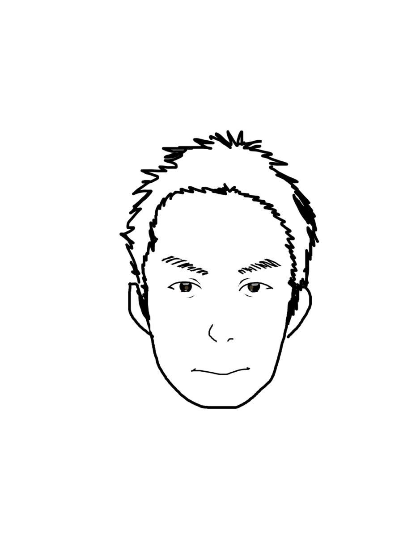 写真などをもとにあなたの似顔絵を描きます アイコン・ウェルカムボードなどに使う画像が欲しいあなたへ