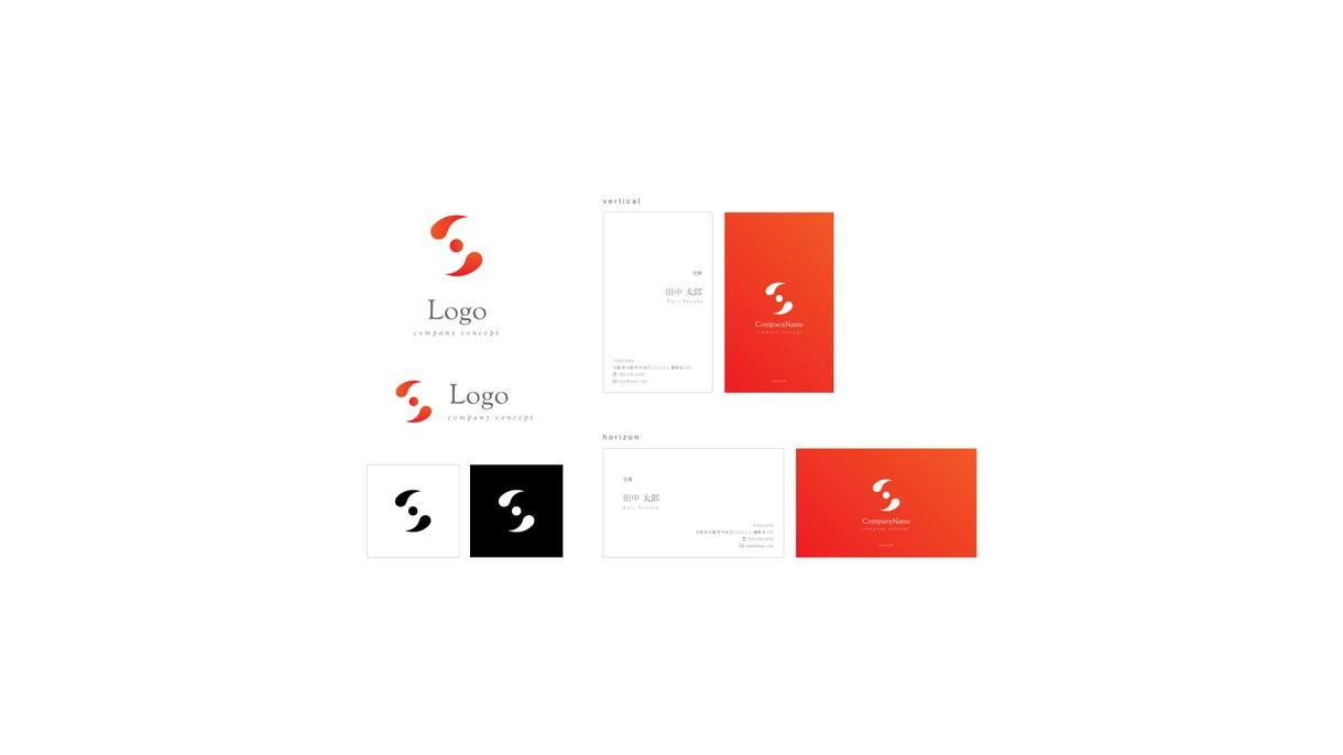 先着順|高品質ロゴマーク+名刺100枚を販売します aiデータ・著作権・印刷費用込みのスタートアップセット