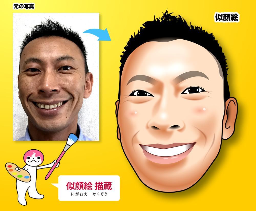 頂いた写真からリアル系似顔絵を描きます 写真から似顔絵を描くぞう!描蔵(かくぞう)の神業をご覧あれ! イメージ1