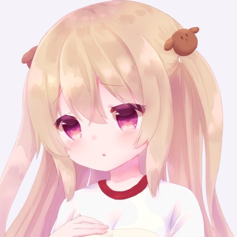 最短3日*かわいいアイコンお描きします *目を引くふわふわ可愛い女の子のアイコン制作いたします*