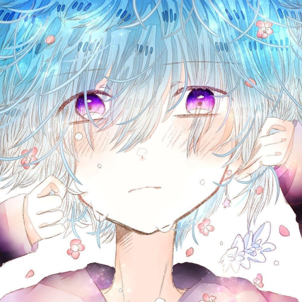 天使のような少年少女アイコンお描きします あなたのSNSアイコンをふわふわとした天使で彩りませんか?