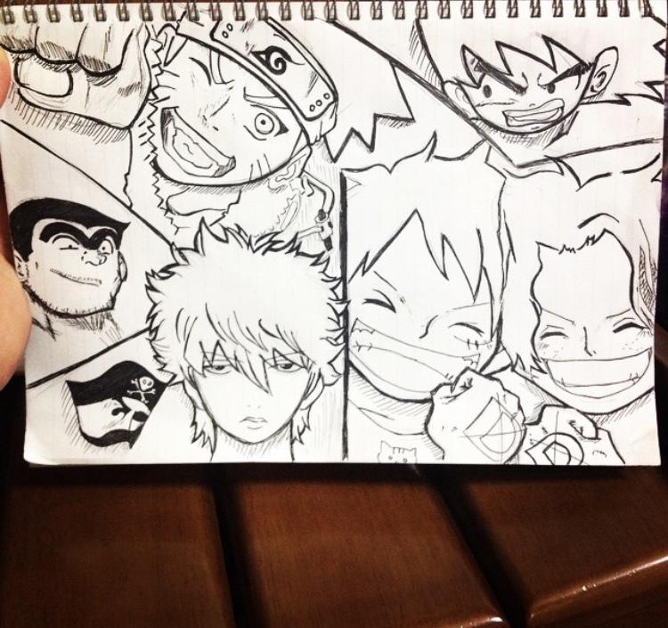 色んなアニメや漫画を模写します アニメや漫画が好きな方わぜひ!