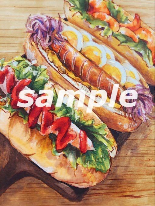 あなたの大好きな食べ物、飲み物描きます おいしい料理をイラストに。お子様を大好きな食べ物のせかいへ!