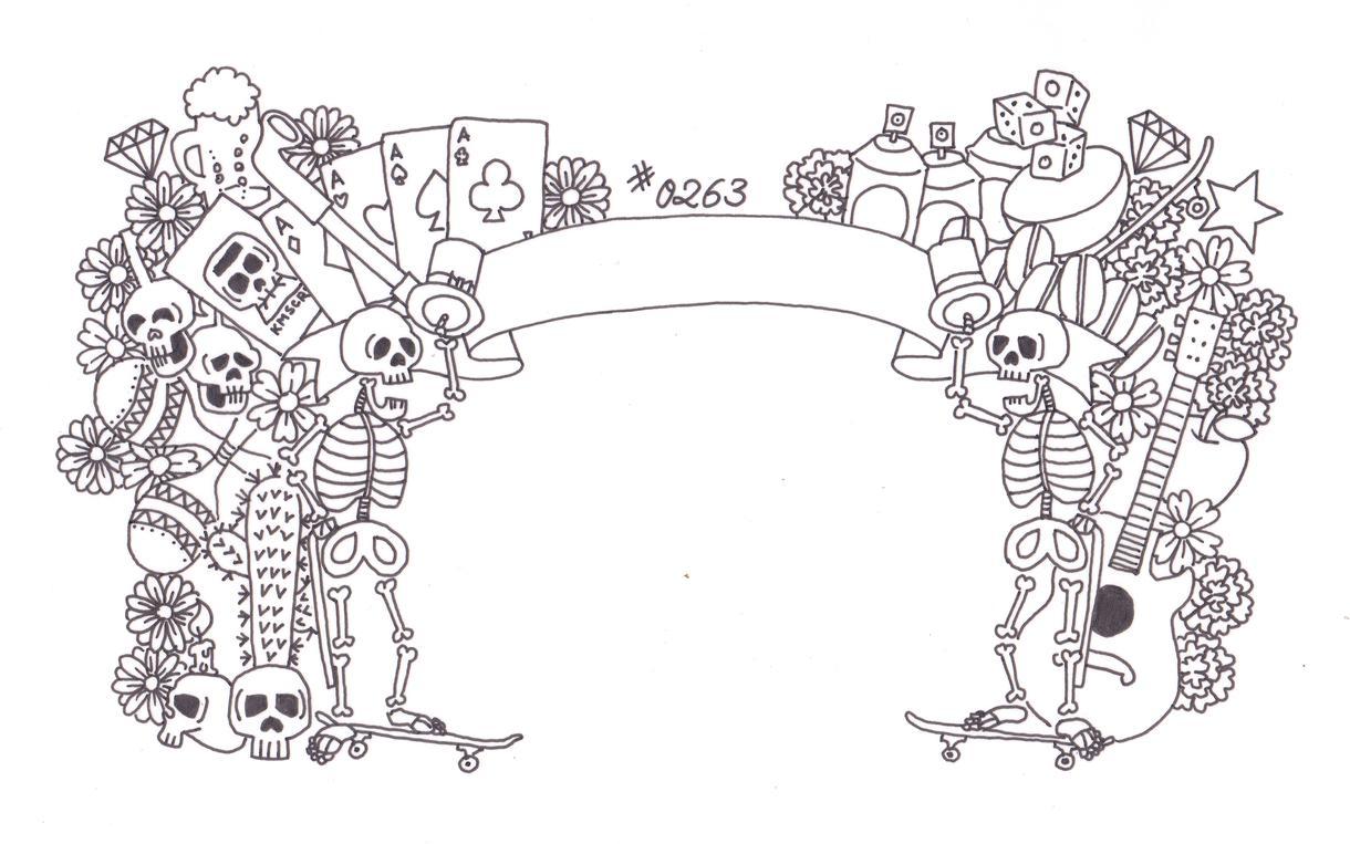タトゥーtattoo刺青のデザイン提案します 自分で納得いくデザインを彫りましょうA4サイズまで