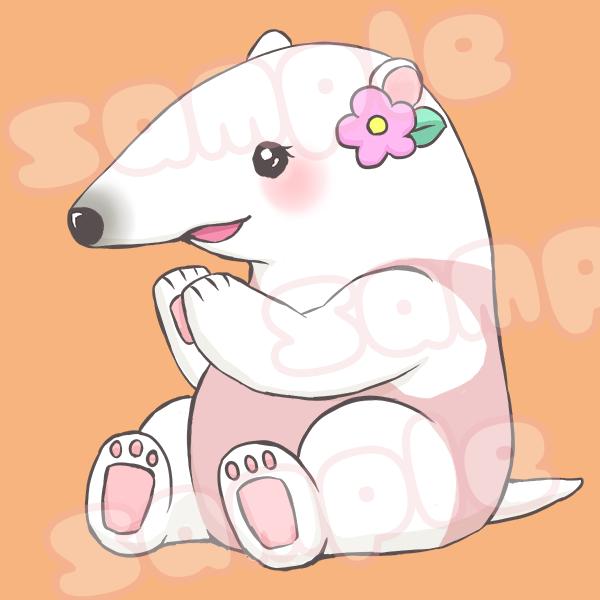 可愛く癒し系な動物イラストをお描きします ブログやSNSに!ペット、動物のゆるかわイラストをどうぞ!