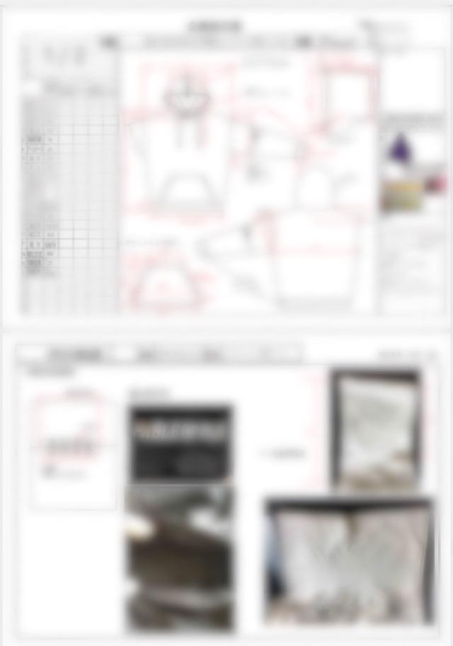アパレルの仕様書作成致します 現役国内大手ヤングブランドデザイナーが仕様書作成致します!