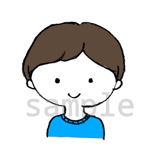 シンプルでゆるーいイラスト描きます 単色/モノクロ/ビビッドカラー/シンプル/キャラクター