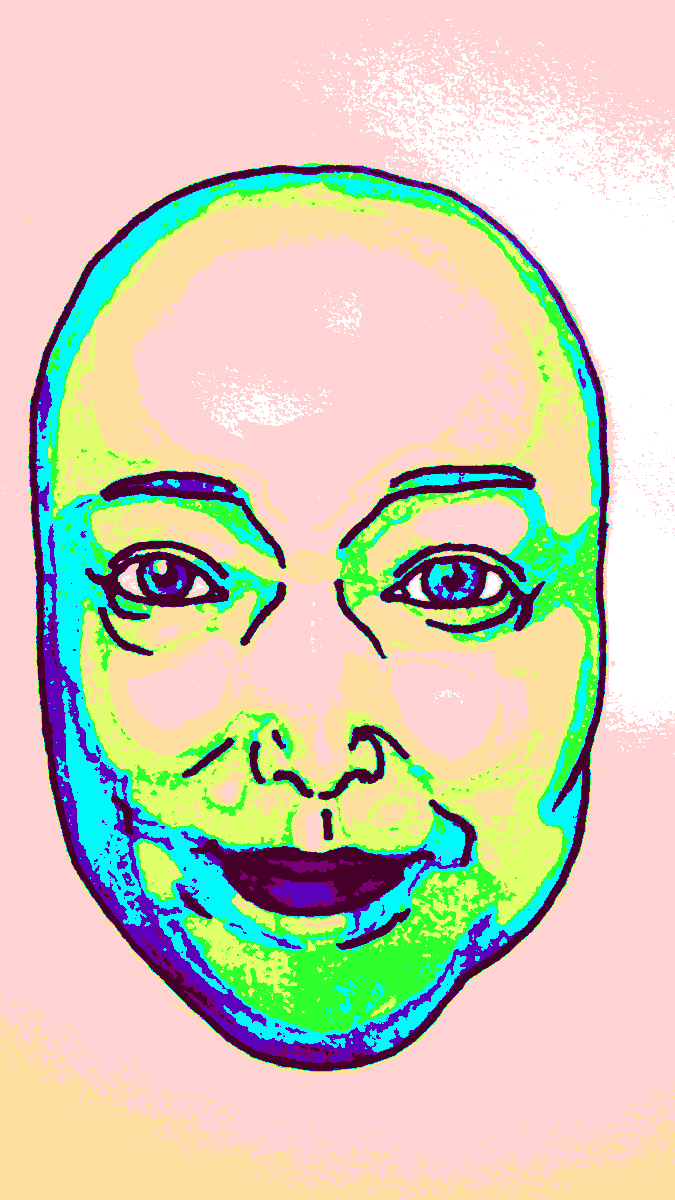 たまごと化した似顔絵を描きます 人の顔が卵になっちゃったでおなじみ。似顔絵たまご