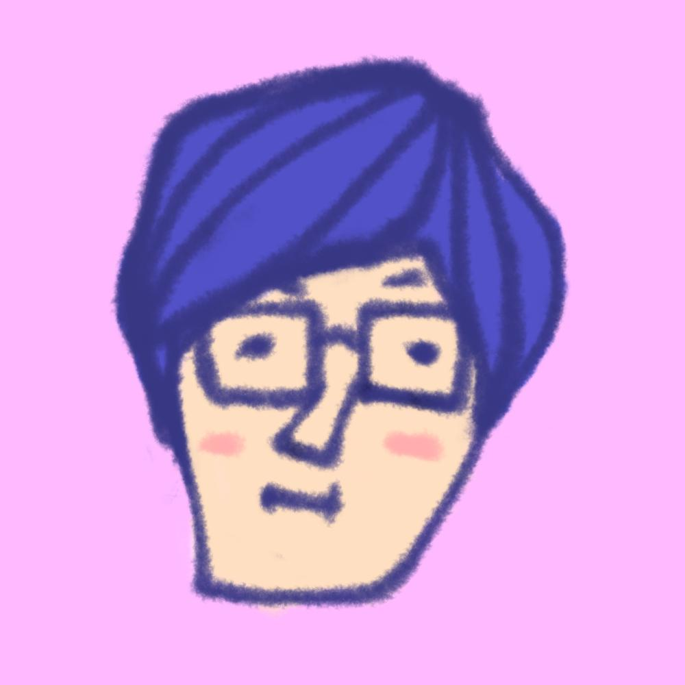 【アイコン用!】シンプルでかわいい似顔絵描きます!