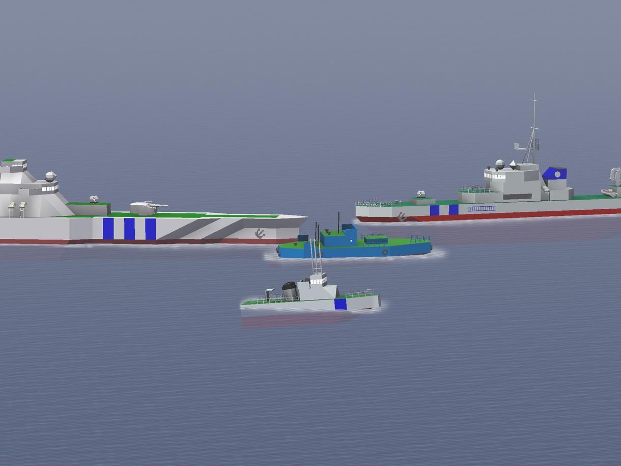 Naval Claftにて艦船を建造しています!(アイデア下さい‼)