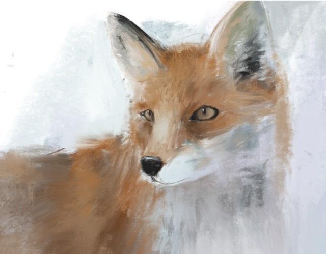 動物たちを厚塗り風に描きます 大切なペットや好きな動物を、厚塗り風のイラストにします