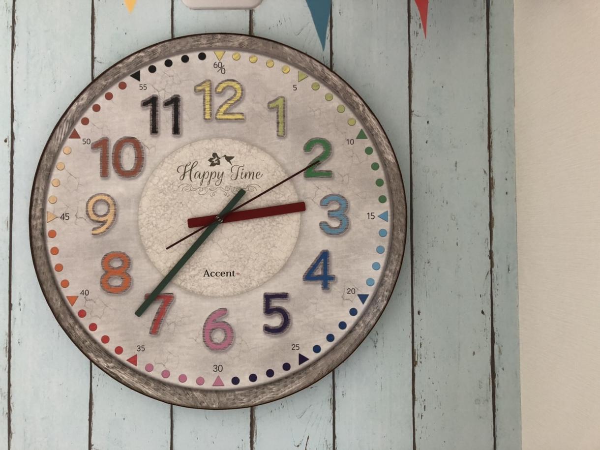 時間への興味を深める! ご自宅の時計カード作ります 興味を持ち始めたタイミングに、ゲーム感覚で時間を身につける!