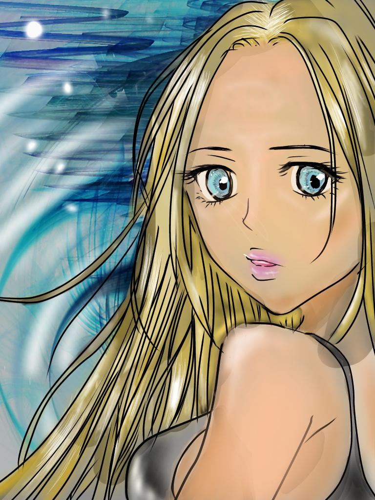 女の子のイラスト書きます ♡♡アイコン、女の子のイラスト♡♡