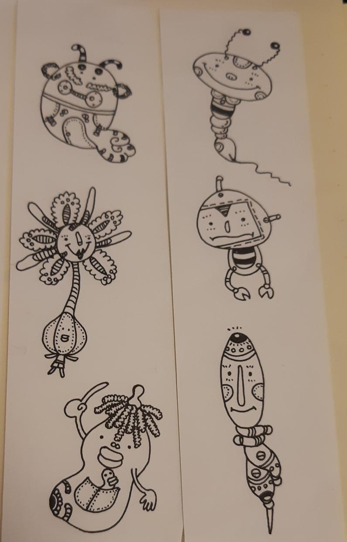 手書きのイラスト、キャラクターを作成します オリジナルキャラクター、手書きのイラスト、似顔絵等々