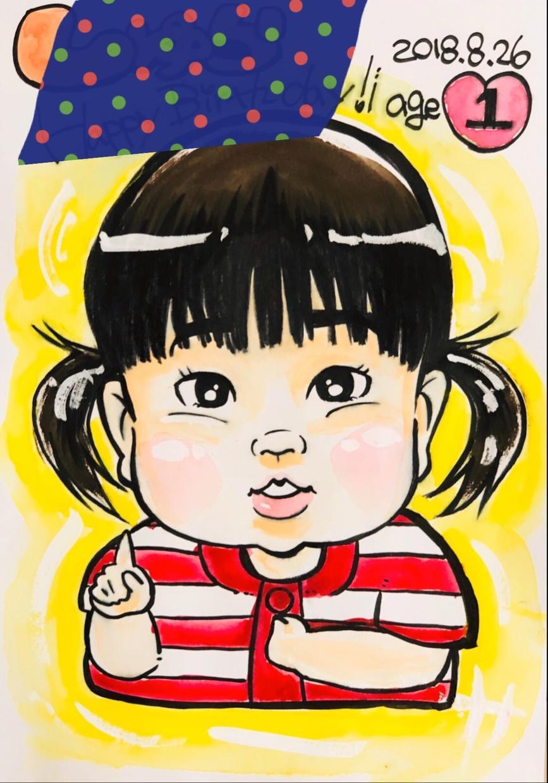 似顔絵描きます 安く似顔絵を描きます!誕生日や記念日に。 イメージ1