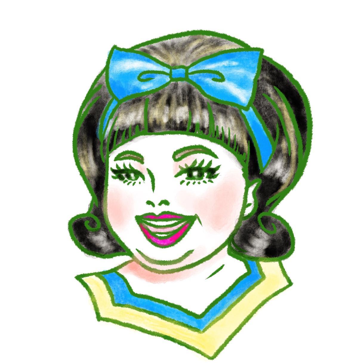 本人もにっこり☆ほっこり似顔絵を描きます プロのイラストレーターによる似顔絵を、オーダーメイド!