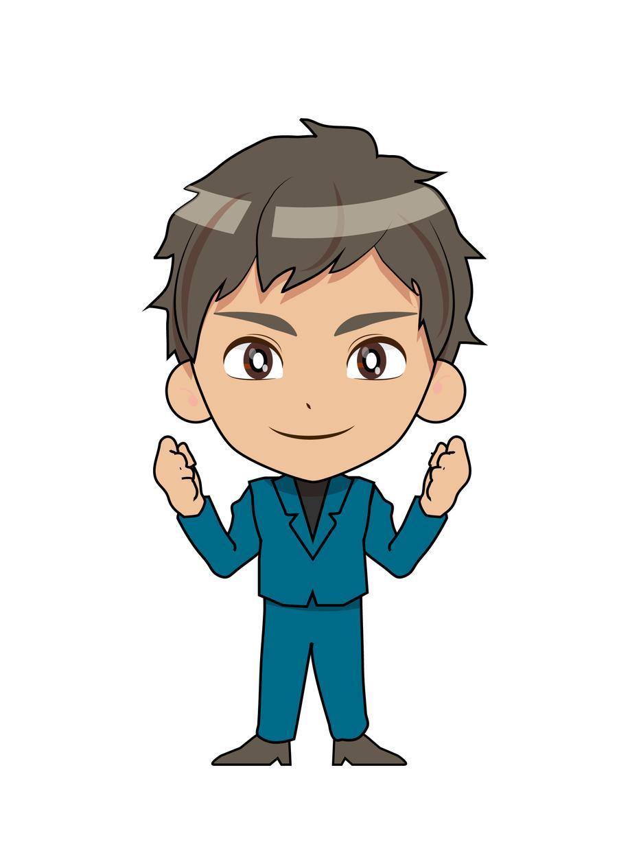 キャラクターイラスト制作します 目ヂカラと説得力のあるアイコンキャラ!