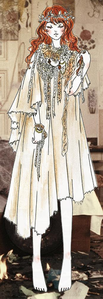 女の子のキャラクター、コスチュームイラスト描きます ファッションデザイナーがデザイン★オリジナルデザインイラスト