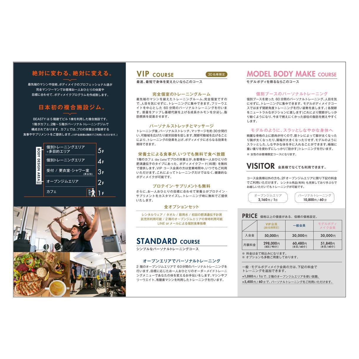 リーフレットのデザインから印刷まで承ります [地図制作・イラスト制作・写真] 全込み3万円から!
