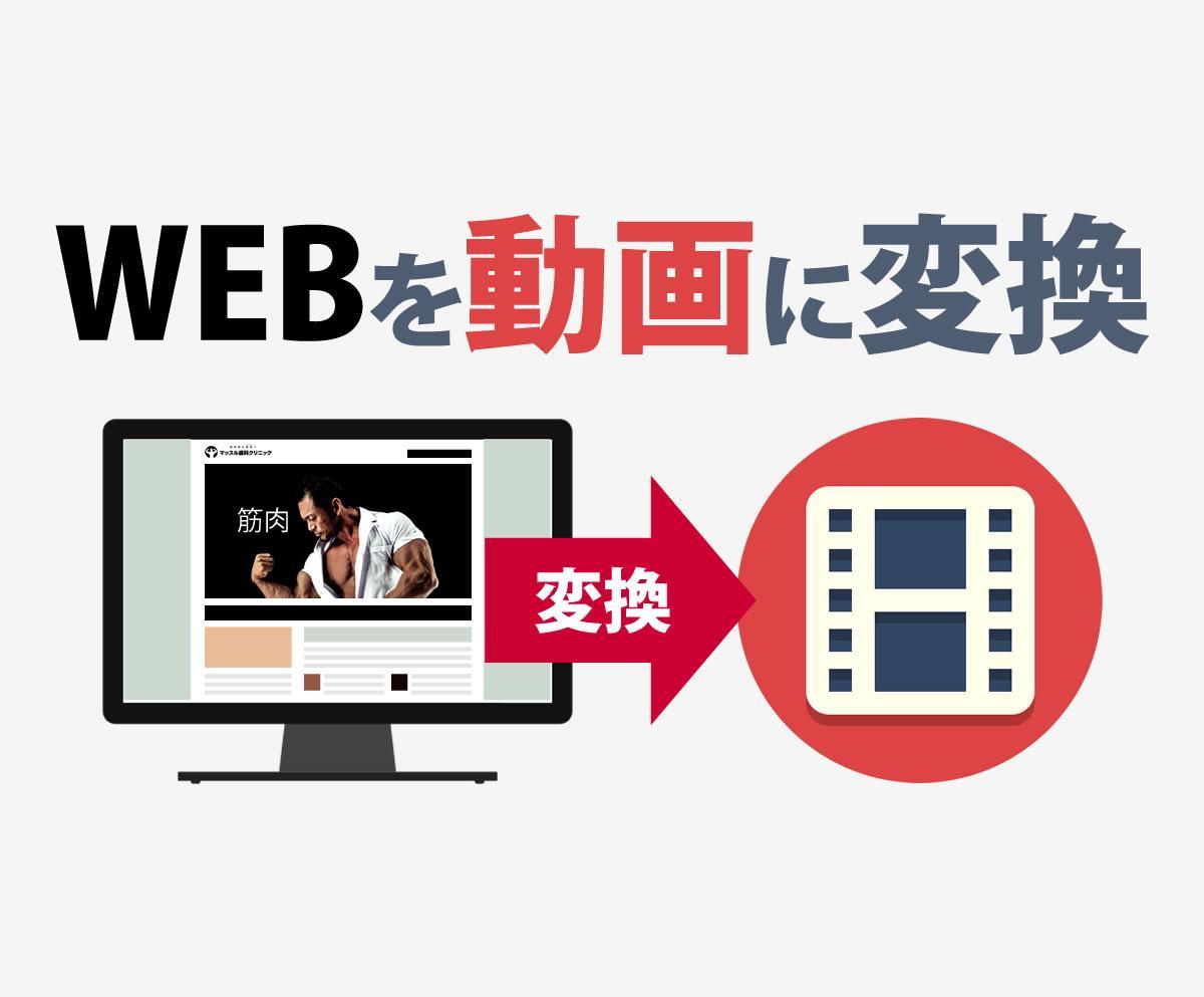 お手軽!WEBサイトから15秒動画を作成します 画像とテキスト渡すだけで動画が完成するよ!完全お任せもアリ!