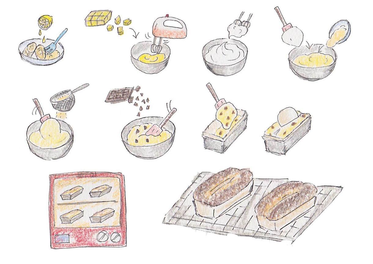 イラスト、フライヤーの作成致します 料理、お菓子レシピ、イベントフライヤーを作りたい方向け