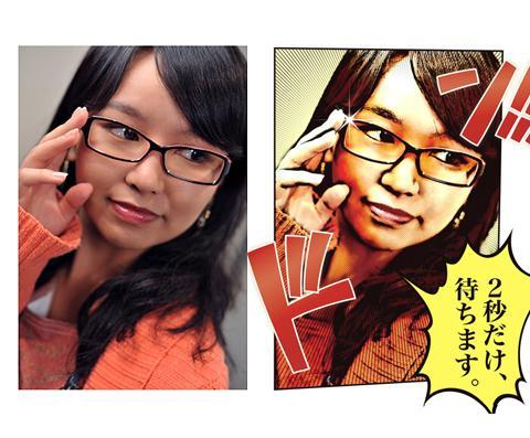 【写真を漫画チックに変換!】招待ポイントで無料に!(入会済みの方でもOK!)