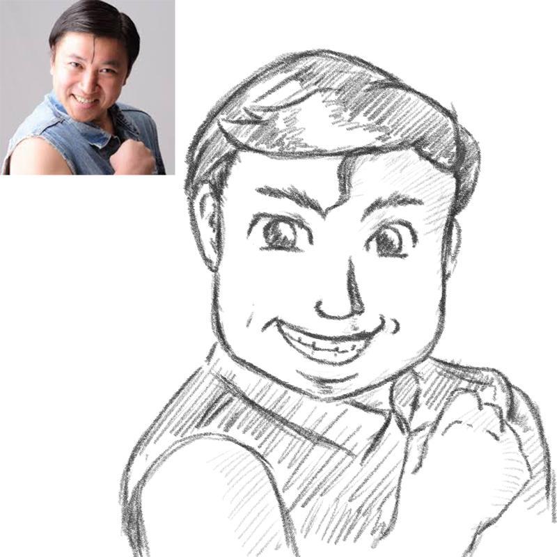 5000円⇒3000円!格安でプロイラストレーターが描きます。ディズニー風の似顔絵イラスト、デザイン