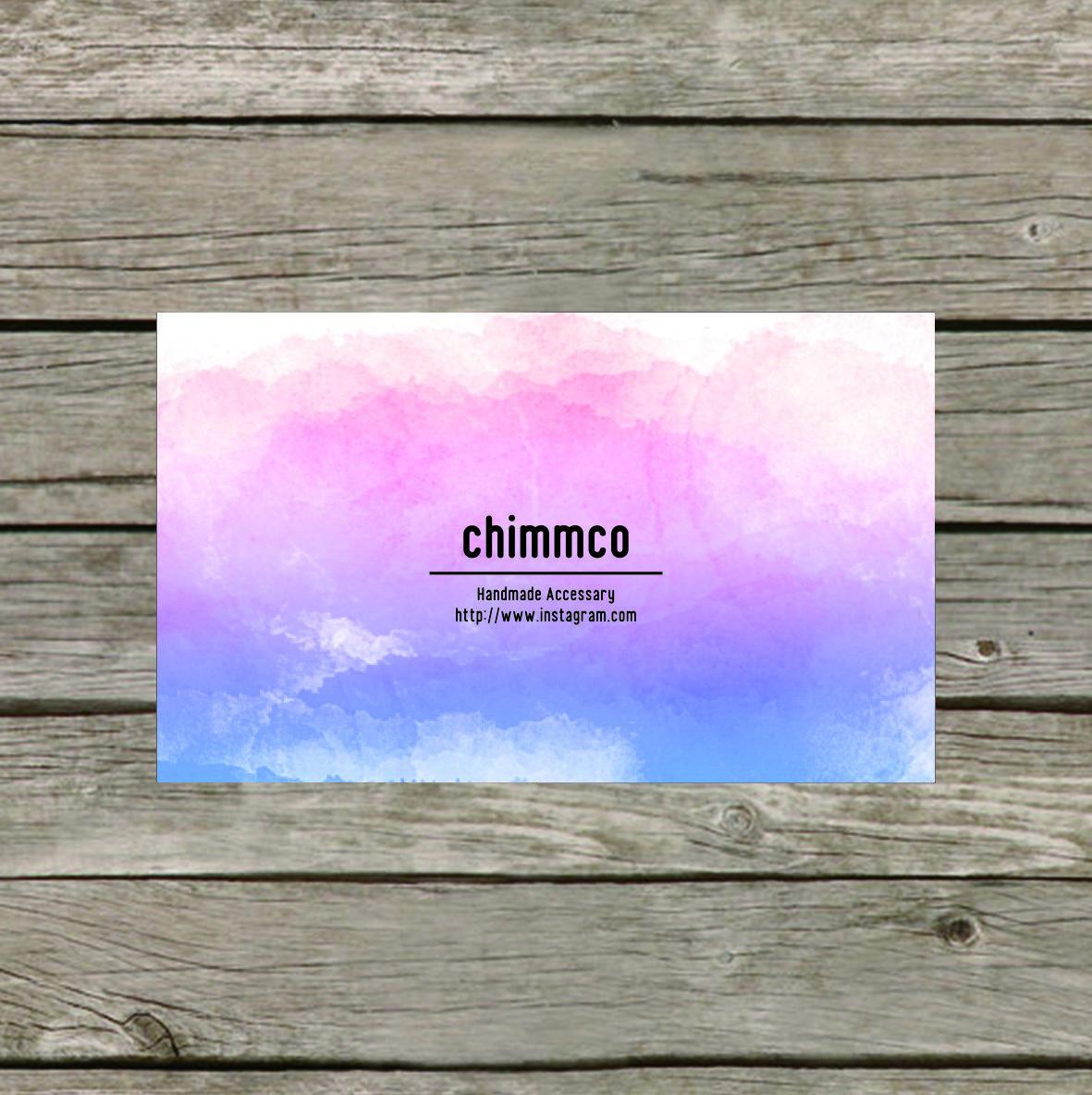 あなたらしさを伝えるショップカードお作りします 自分らしさをアピールするオリジナル名刺を作成します!
