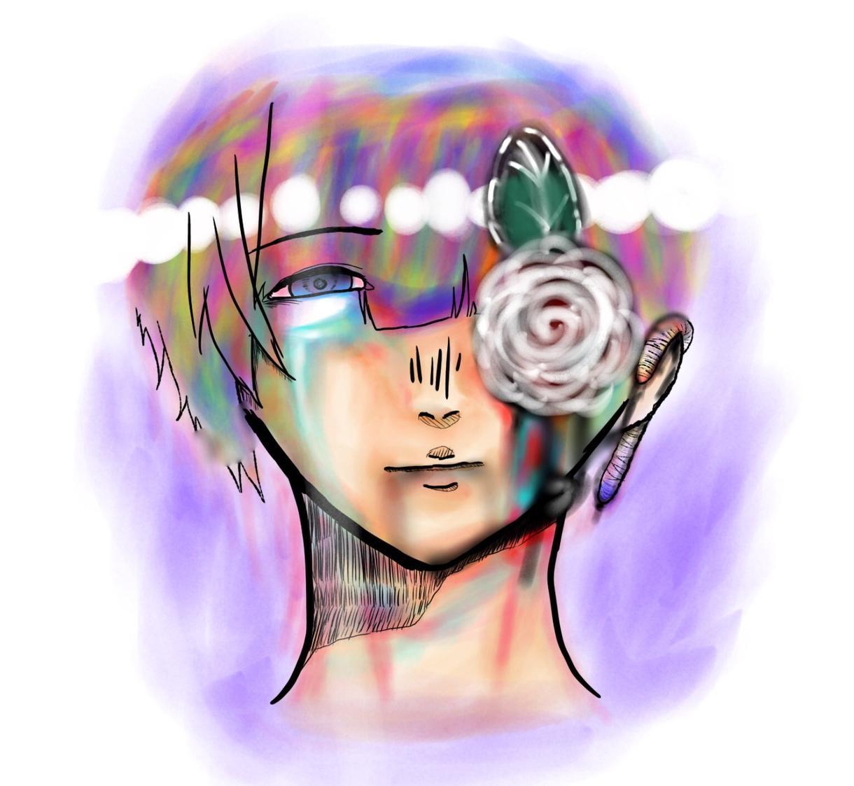 イメージで抽象絵を描きます イメージを作り、どんな用途にもあわせます。