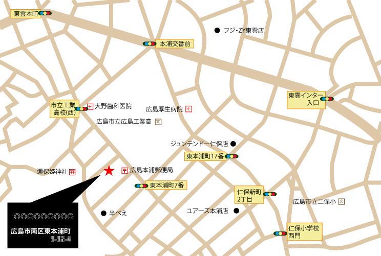 地図作成します◆元絵は手書き・GoogleMapなど可