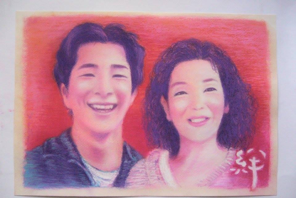 美しい似顔絵描きます 美しい飾るための似顔絵を描きます。100年みんなうっとり~♪ イメージ1