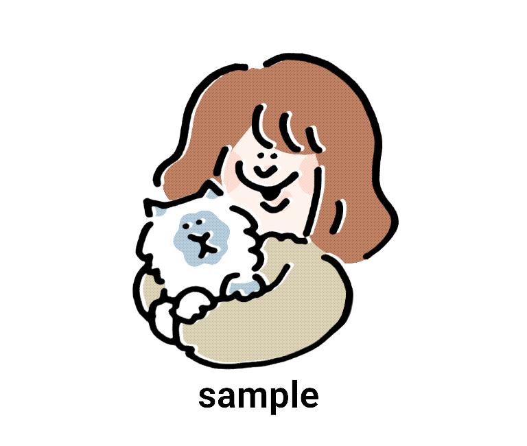ペットをPOPで可愛く描きます あなたのペットをPOPなイラストにしませんか? イメージ1
