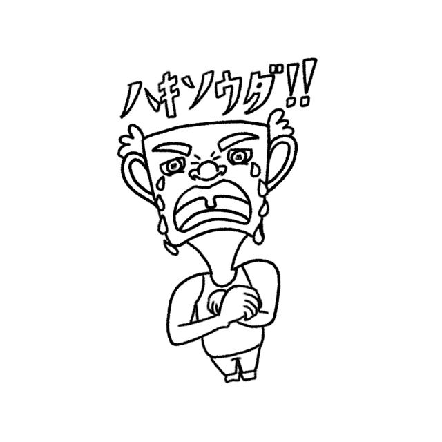 線画のSNSアイコン 似顔絵 モノクロで描きます SNS等のアイコンにいかがですか?心を込めて描きあげます。