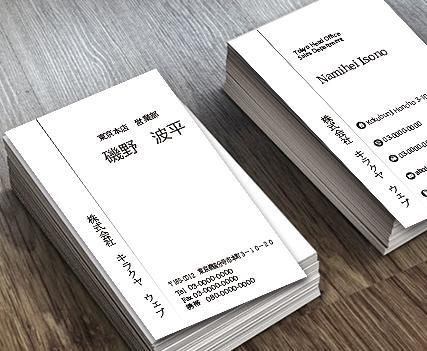 海外からも注文頂いてます!お洒落な名刺を制作します 弊社名刺で運気が上がったと好反響!出逢のチャンスで営業力UP