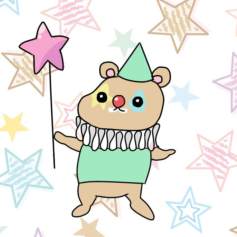 ファンシー☆かわいい系のイラスト描きます プレゼントなどにもおすすめです☆