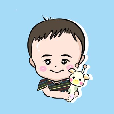 赤ちゃん・子供の似顔絵のSNSアイコンお描きします コロンと可愛い♪世界に一つだけのアイコンを作成☆