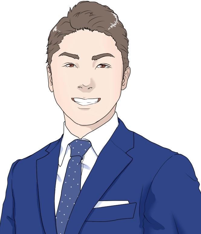 あなたの印象戦略を織り込んだ似顔絵を描きます ビジネス用のサイト、ブログなど印象が大切なシーンに