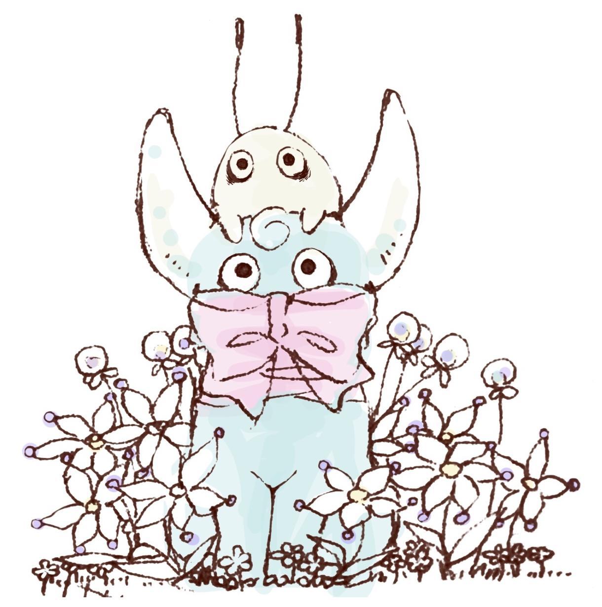 色んな生き物のオリジナルイラスト描きます 可愛い動物や不思議な