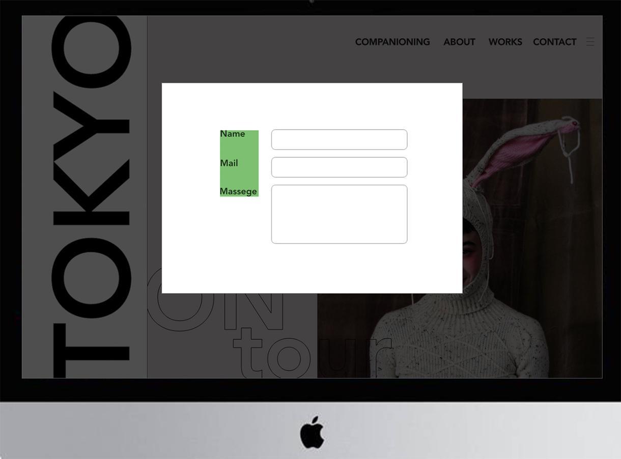 オシャレなwebデザイン制作のお手伝い致します シンプルでオシャレなデザインを提供致します!