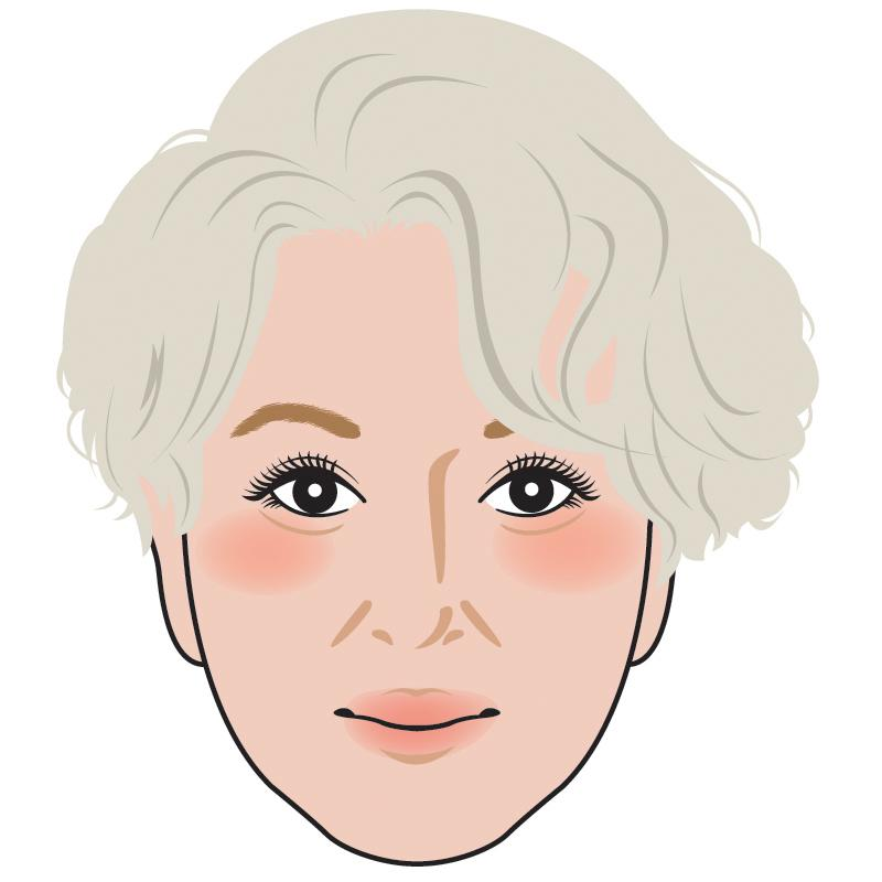 キレイめ♡で似てる!と言われる似顔絵作成します 【名刺・広告・アイコンなど】きちんと感がある似顔絵でPRを!