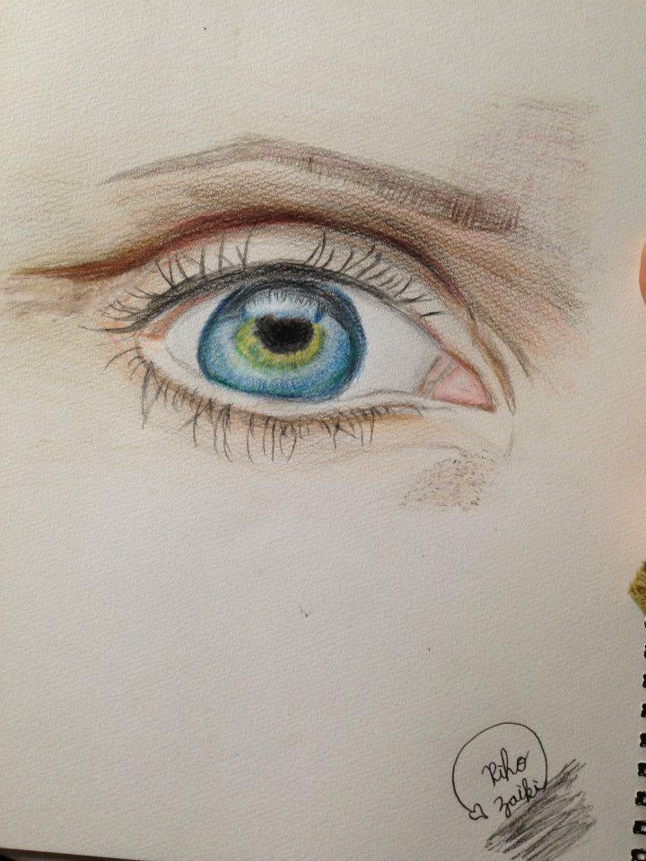 あなたの目を描きます
