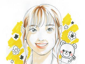 可愛い似顔絵描きます 明るくて可愛い似顔絵いかがですか?