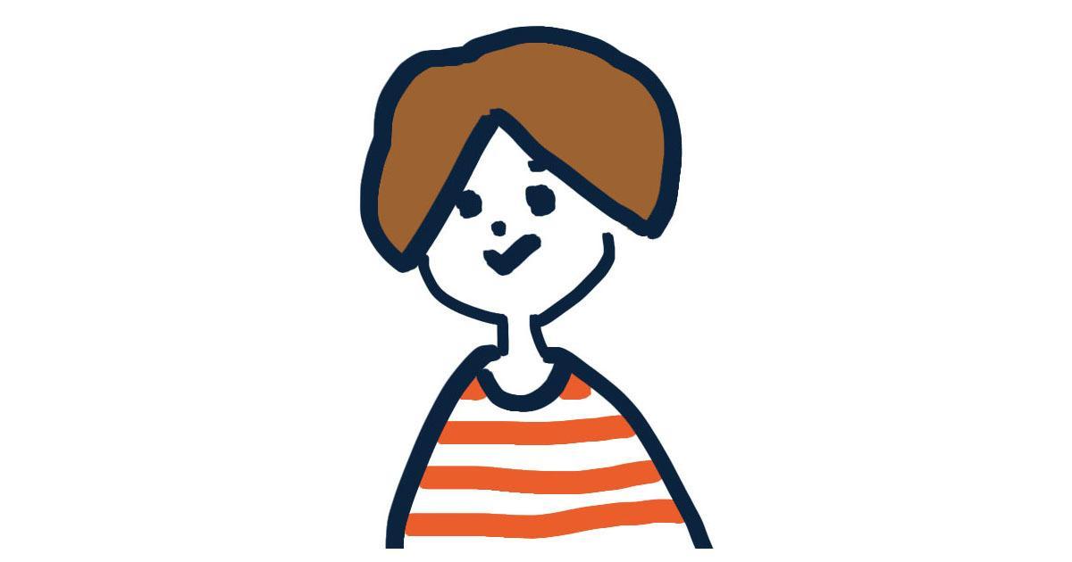 シンプルな女性のSNSアイコン描きます ゆるくシンプルなアイコンでSNSを彩りませんか?